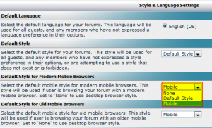 vBulletin Mobile Style Grid Menu Fix